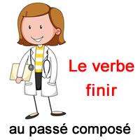Le Verbe Finir Au Passe Compose Exercice De Francais Ce2
