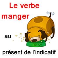 Le Verbe Manger Au Present De L Indicatif Exercice De Francais Ce2