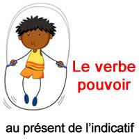 Le Verbe Pouvoir Au Present De L Indicatif Exercice De Francais Ce2