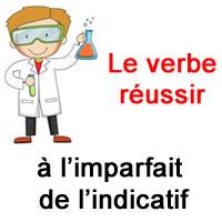 Le Verbe Reussir A L Imparfait De L Indicatif Exercice De Francais Ce2