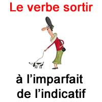 Le Verbe Sortir A L Imparfait De L Indicatif Exercice De Francais Ce2