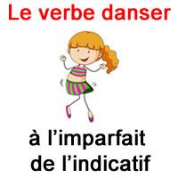 Le Verbe Danser A L Imparfait De L Indicatif Exercice De Francais Ce2