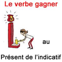 Le Verbe Gagner Au Present De L Indicatif Exercice De Francais Ce2