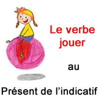 Le Verbe Jouer Au Present De L Indicatif Exercice De Francais Ce2