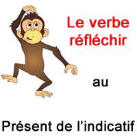 Le Verbe Reflechir Au Present De L Indicatif Exercice De Francais Ce2