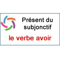 Conjugue Le Verbe Avoir Au Present Du Subjonctif