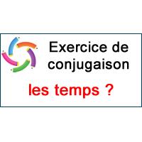 2 Exercice De Conjugaison Apprendre A Reconnaitre Les Temps