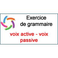2. Exercice de grammaire: la voix passive.