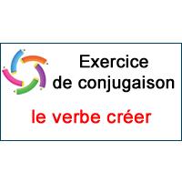 Le Verbe Creer Exercice De Conjugaison En Ligne