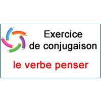 Le Verbe Penser Exercice De Conjugaison En Ligne