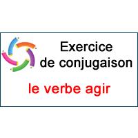 Le Verbe Agir Exercice De Conjugaison En Ligne