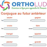 1 Exercice 10 Verbes A Conjuguer Au Futur Anterieur