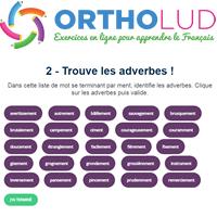 1 Trouve Les Adverbes Exercice De Grammaire 6eme 5eme 4eme