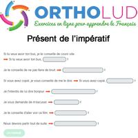 1 Conjugue Ces Phrases Au Present De L Imperatif Exercice Fle