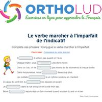 Le Verbe Marcher A L Imparfait De L Indicatif Exercice De Francais Cm1