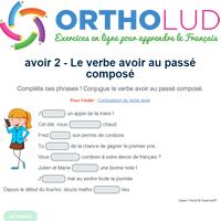 Le Verbe Avoir Au Passe Compose Exercice De Francais Cm1