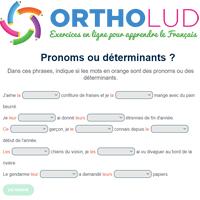 10 Pronoms Ou Determinants Exercice De Grammaire