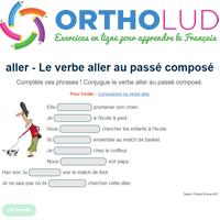 Le Verbe Aller Au Passe Compose Exercice De Francais Cm1